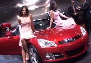 Salon : Opel GT au Salon de Genève 2006