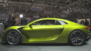 Salon : DS e-Tense