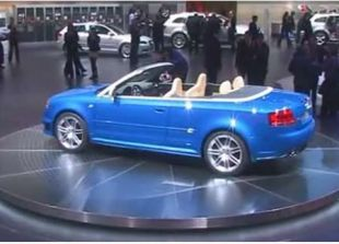 Salon : Audi RS4 cabriolet