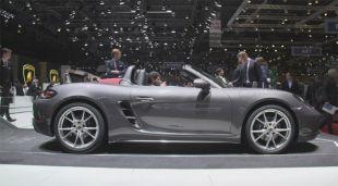 Salon : Porsche 718 Boxster