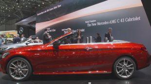 Salon : Mercedes Classe C Cabriolet (A205)