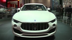 Salon : Maserati Levante