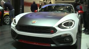 Salon : Abarth 124 Spider
