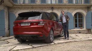 Essai : Land Rover Range Rover Sport SVR