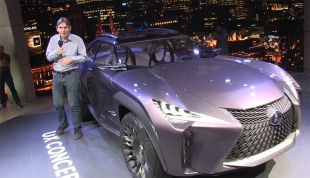 Salon : Lexus UX Concept