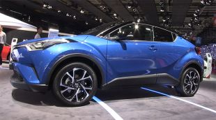 Salon : Toyota C-HR