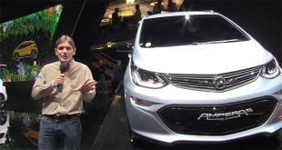 Salon : Opel Ampera-e