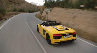 Essai : Audi R8 (II) Spyder V10