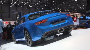 Salon : Alpine A110 2017