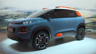 Salon : Citroën C-Aircross Concept