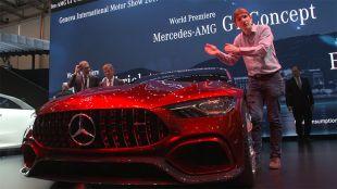 Salon : Mercedes-AMG GT Concept