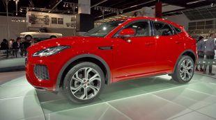 Salon : Jaguar E-Pace