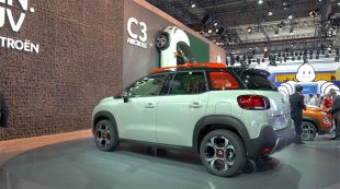 Salon : Citroën C3 Aircross