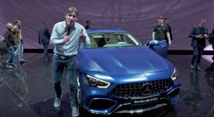 Salon : Mercedes AMG-GT Coupé 4 portes
