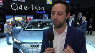 Vidéo Audi Q4 e-tron concept - Salon de Genève - GIMS 2019