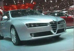 Salon : Alfa Romeo 159 au salon de Genève 2005