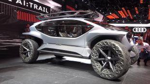 Vidéo Mercedes Vision EQS - Salon de Francfort 2019