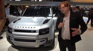 Vidéo Land Rover Defender - Salon de Francfort 2019