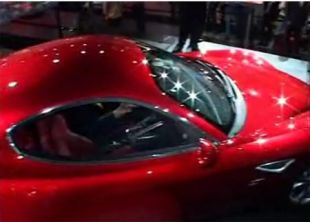 Salon : Alfa Romeo 8C Competizione au Mondial de l'Automobile 2006