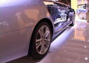 Salon : Lexus LS 600h au Mondial de l'Automobile 2006