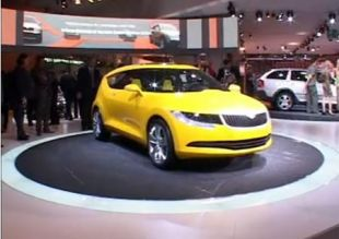 Salon : Skoda Joyster