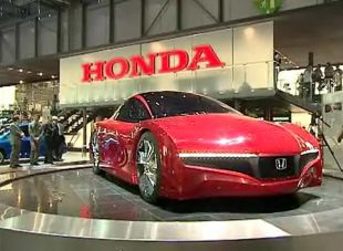 Salon : Honda Small Hybrid Sports