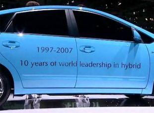 Vidéo 10 ans de Toyota hybrides - Salon de Francfort 2007