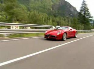 Présentation Alfa Romeo 8C Competizione