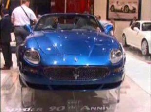 Salon : Maserati Spyder