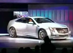 Salon : Cadillac CTS Coupé Concept