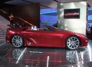 Salon : Lexus LF-A Roadster Concept