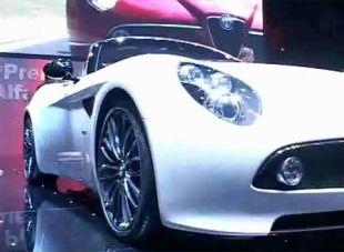 Salon : Alfa Romeo 8C Spider