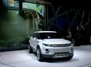 Salon : Land Rover LRX Concept