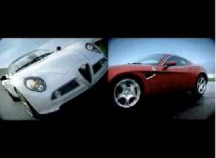 Alfa Romeo 8C Spider et Competizione