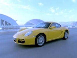 Porsche Cayman (vidéo constructeur)