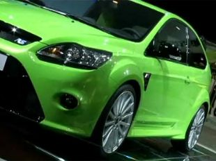 Ford Focus RS au Mondial automobile 2008