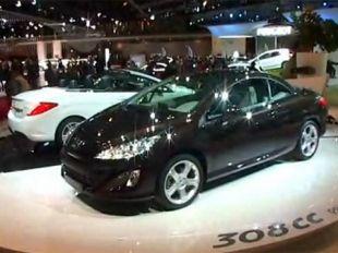 Salon : Peugeot 308 CC au Mondial de l'Automobile 2008