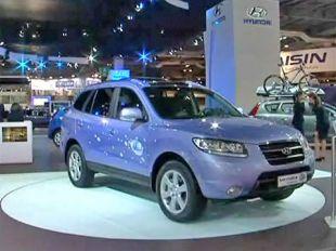 Salon : Hyundai Santa Fe hybrid