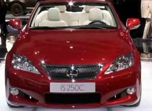 Salon : Lexus IS 250 Cabriolet