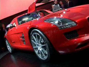 Salon : Mercedes SLS AMG au Salon de Francfort 2009