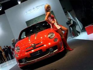 Salon : Fiat 500 Abarth 695 Tributo Ferrari