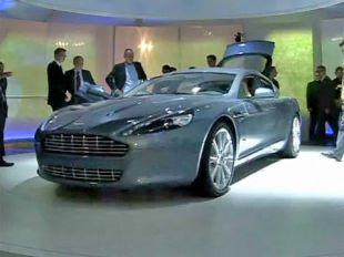 Salon : Aston Martin Rapide au Salon de Francfort 2009