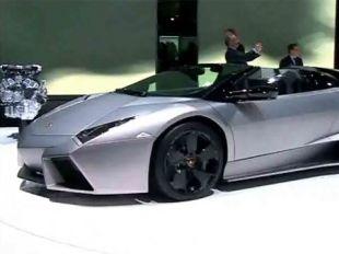 Salon : Lamborghini Reventon Roadster