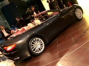 Salon : Maserati GranCabrio