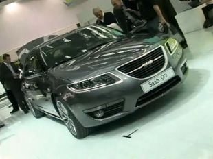 Salon : Saab 9-5 au Salon de Francfort 2009