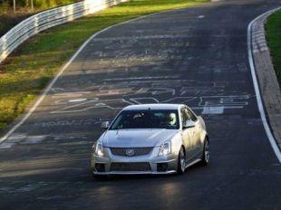 Cadillac CTS-V au Nürburgring