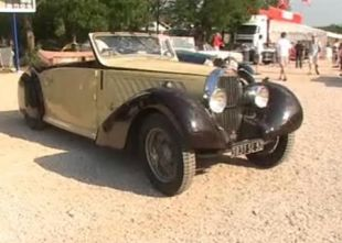 Vidéo Bugatti 16C Galibier - Essai