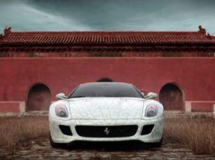 Ferrari aux enchères en Chine