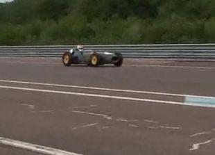 Vidéo Aston Martin P 214 Le Mans - Essai