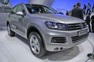 Salon : Volkswagen Touareg au Salon de Genève 2010